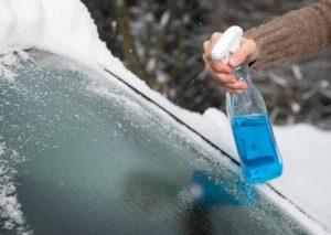 Defrosting windshield