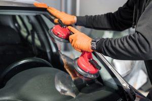 Auto glass repair and recalibration